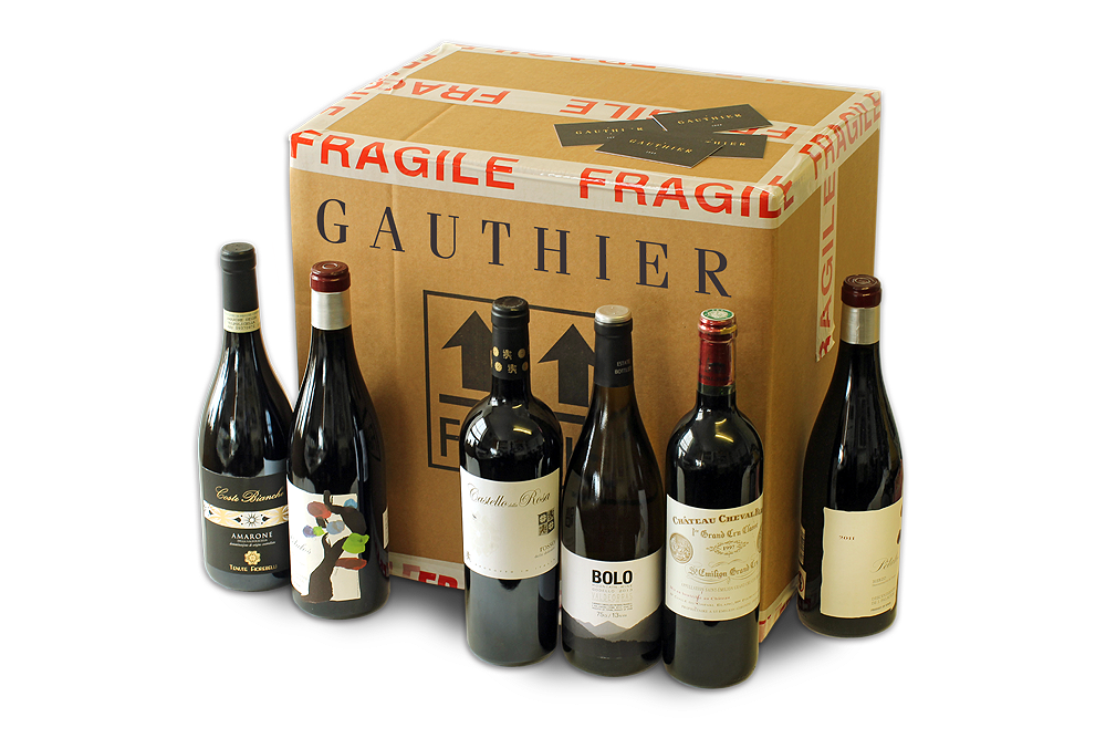 Monthly Wine Club Box - Classic