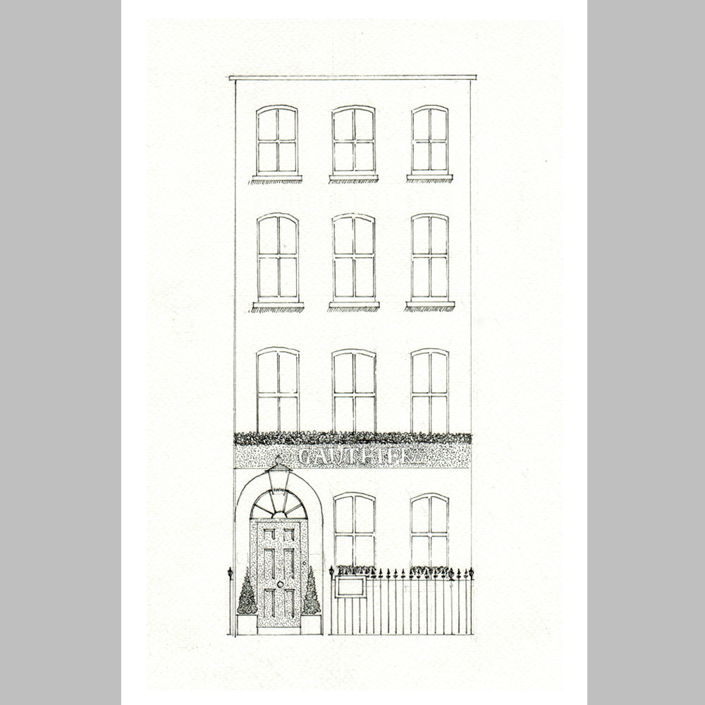 '21 Romilly Street' Print