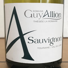 6x Guy Allion Touraine Sauvignon Blanc  2018