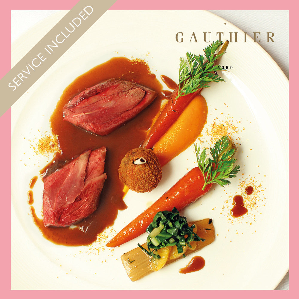 Gauthier Soho - Three Course Dinner for Two