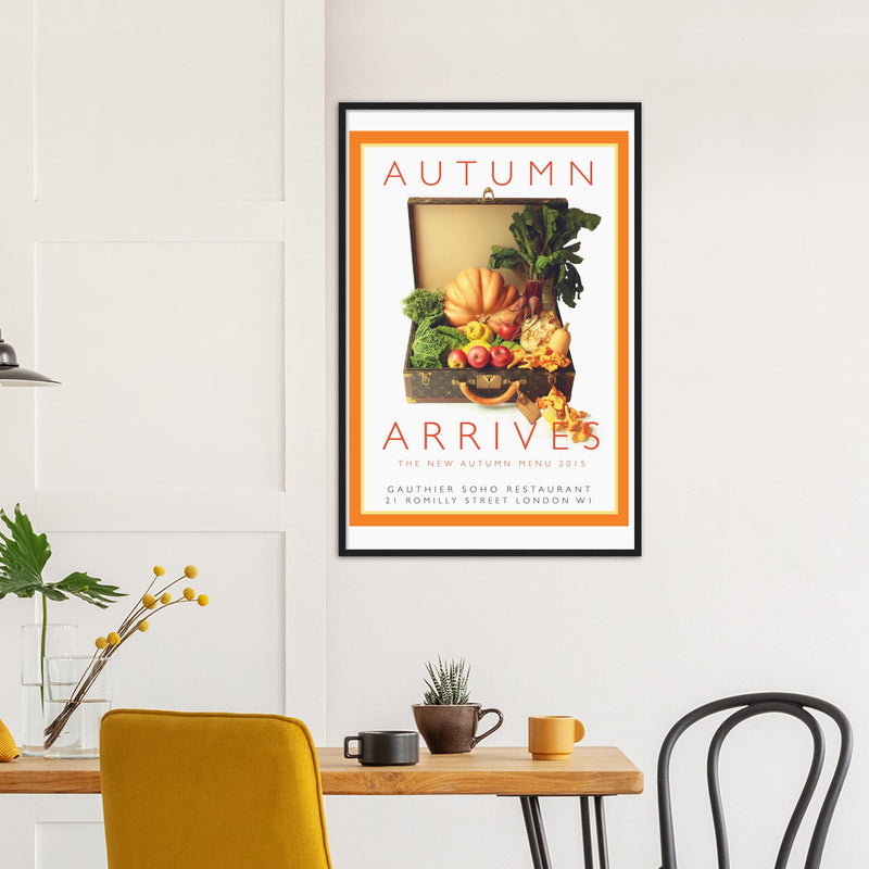 Autumn Arrives -  Framed Print