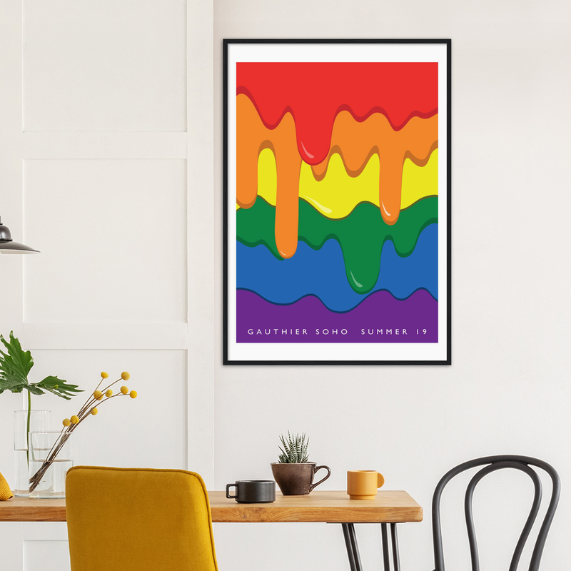 Framed print - Summer 2019  'Melt'