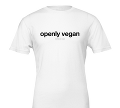 Gauthier 'Openly Vegan'  T-shirt