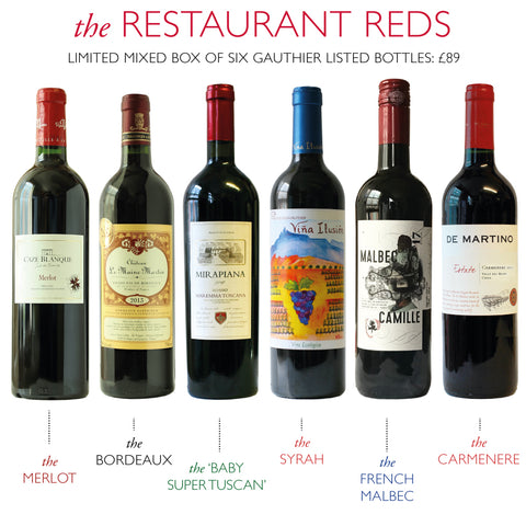 Restaurant Reds Mixed Box - Case of 6