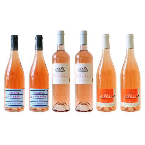 2018 Gauthier Summer Rosé Collection Mixed Box