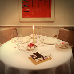 Bespoke Private Dinner for two in the Chefs' Room