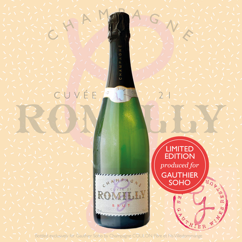 1x Champagne Pierre Romilly Cuvée 21 Brut Classic