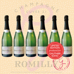 6x Champagne Pierre Romilly Cuvée 21 Brut Classic
