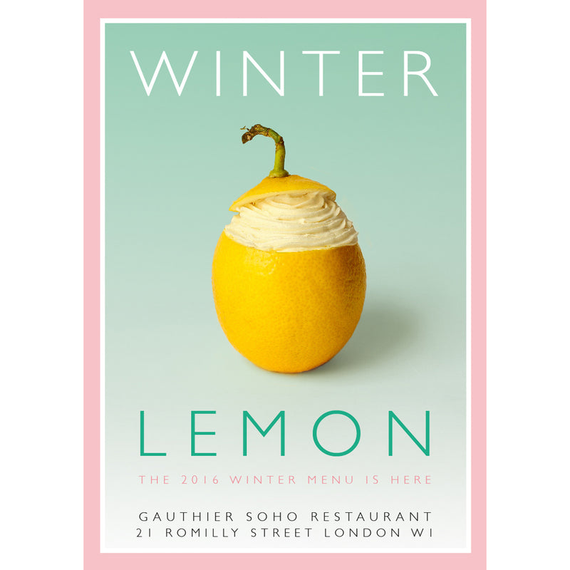'Winter Lemon' Print