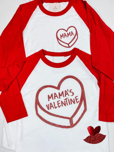 Kids Mama's Valentine Graphic