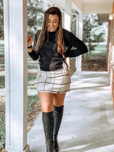 Load image into Gallery viewer, A Confident Heart Plaid Skirt