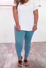 Load image into Gallery viewer, Dusty Teal Leggings