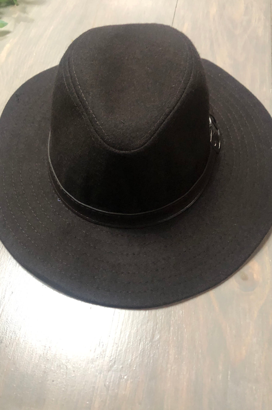 Felt Fedora -Brown