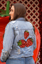 Load image into Gallery viewer, The Glam Red Berry Jacket