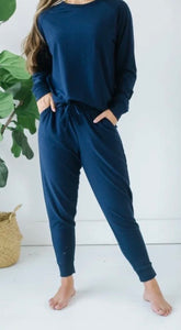 Stay Comfy Navy Lounge Set