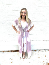 Load image into Gallery viewer, Mauve Tie Dye Duster