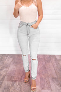 Jess distressed denim