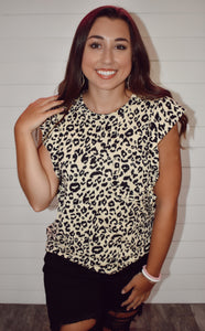 Never Out Of Style Animal Print Blouse