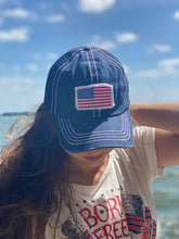 Load image into Gallery viewer, American Flag Snapback Hat