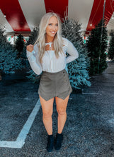 Load image into Gallery viewer, Shake it Skort - Olive