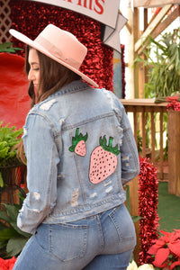 The Glam Pink Berry Jacket