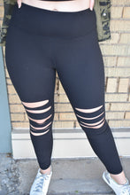 Load image into Gallery viewer, Laser Cut Leggings