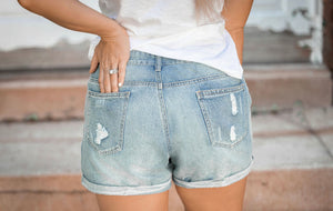 Savanna Cuffed Shorts