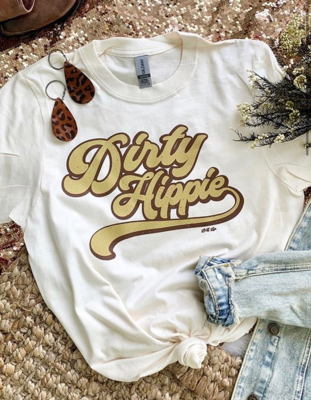 Dirty Hippie - White