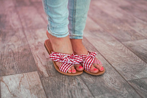Cherry on Top Sandals