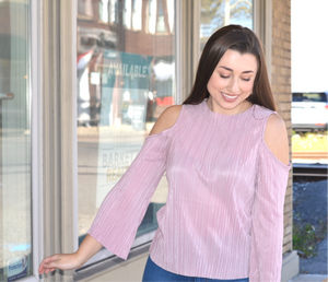 Blush Cold Shoulder