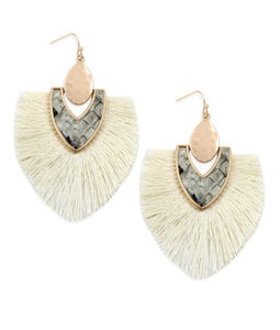 Ivory Drop Earrings