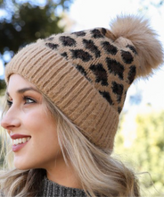 Load image into Gallery viewer, Megan Leopard LV Beanie
