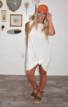 Load image into Gallery viewer, Casual White Dress
