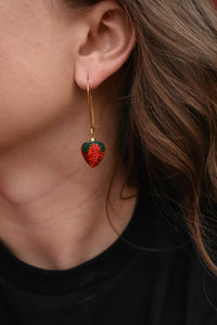 Drop Berry Earrings