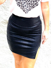 Load image into Gallery viewer, She's the one Snake Skin Skirt