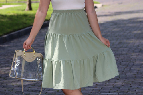 Sage Saturday Skirt