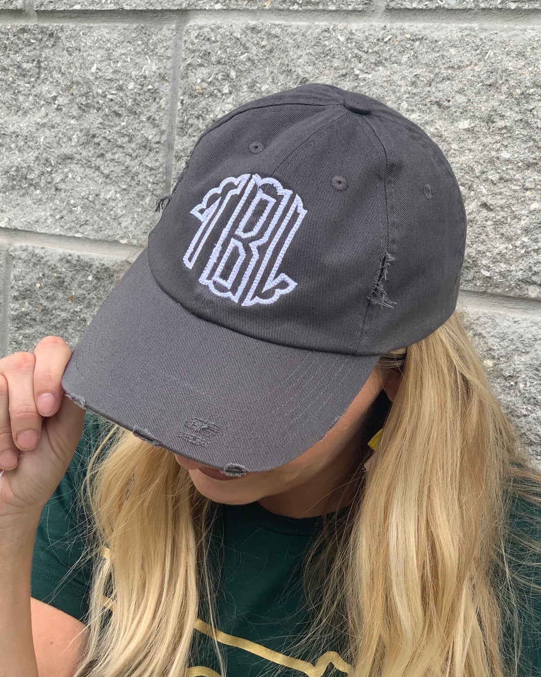Custom Monogram Hat