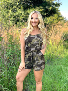 Army Fight For Freedom Romper