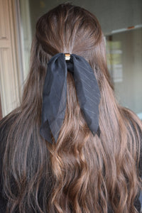 Black Hair Scarf