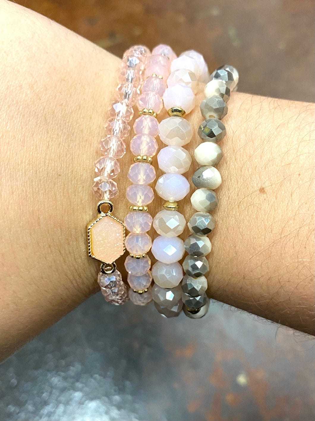 Classy Calm Chic Stack - Pink