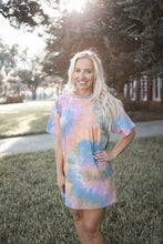 Load image into Gallery viewer, Tie Dye Dreams T-Shirt Dress