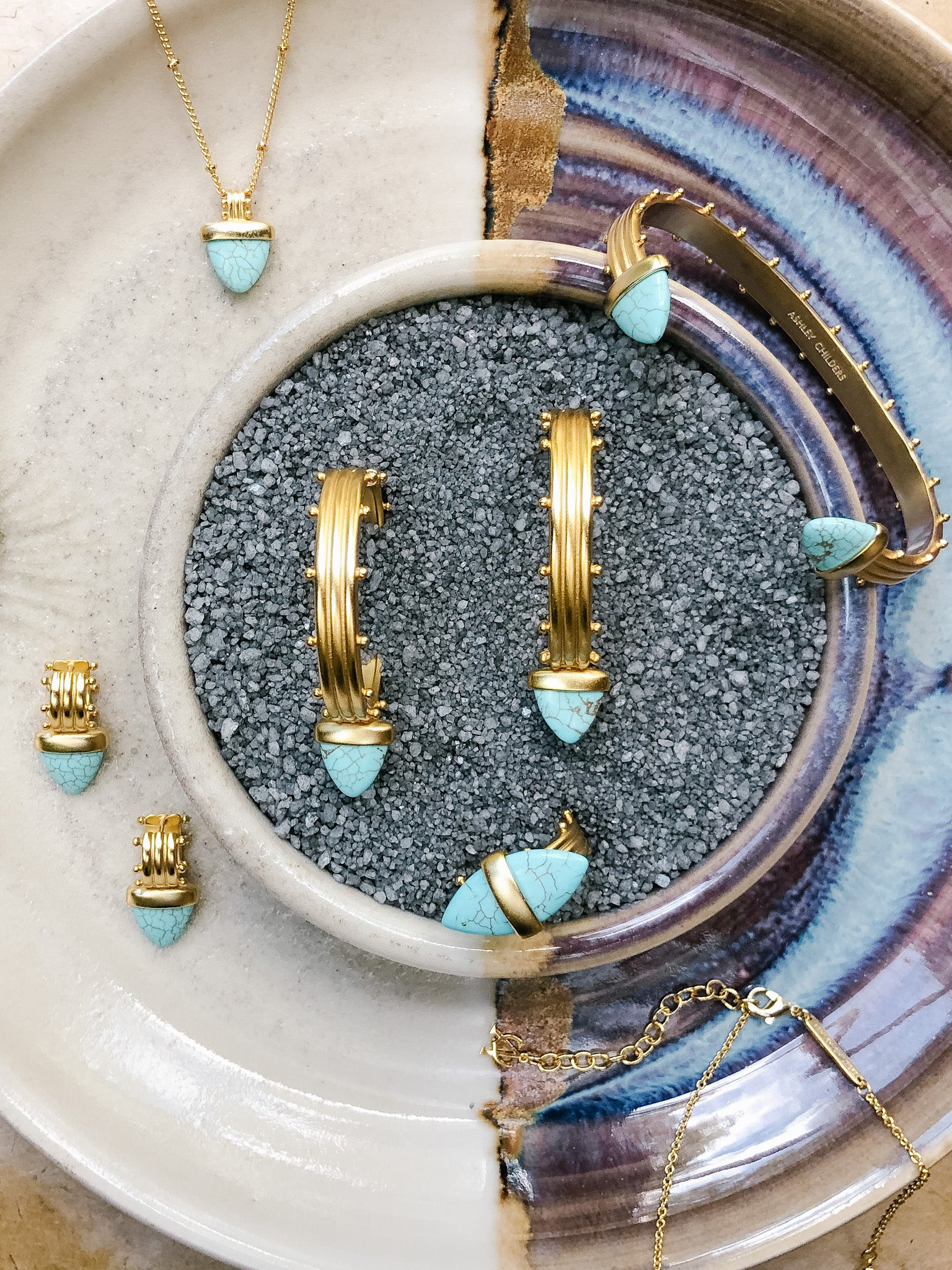 Ashley Childers, Aegean Turquoise Jewelry Collection
