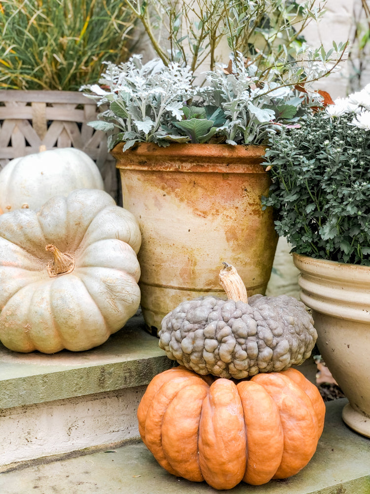 Ashley Childers, Fall Front Porch Decor