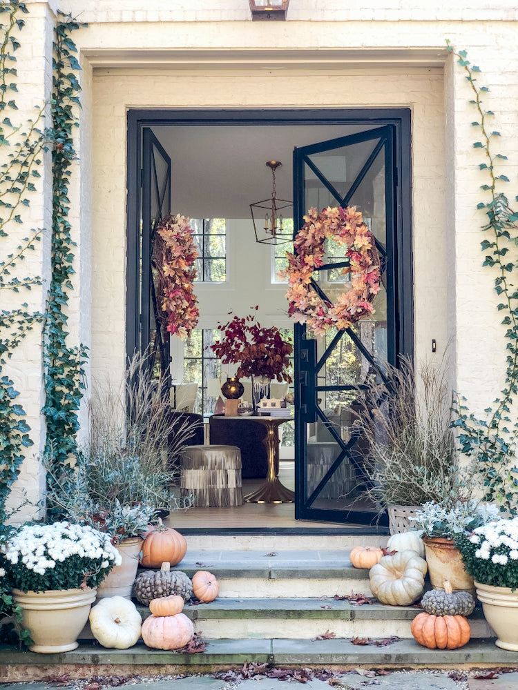 Ashley Childers, Fall Porch Decor