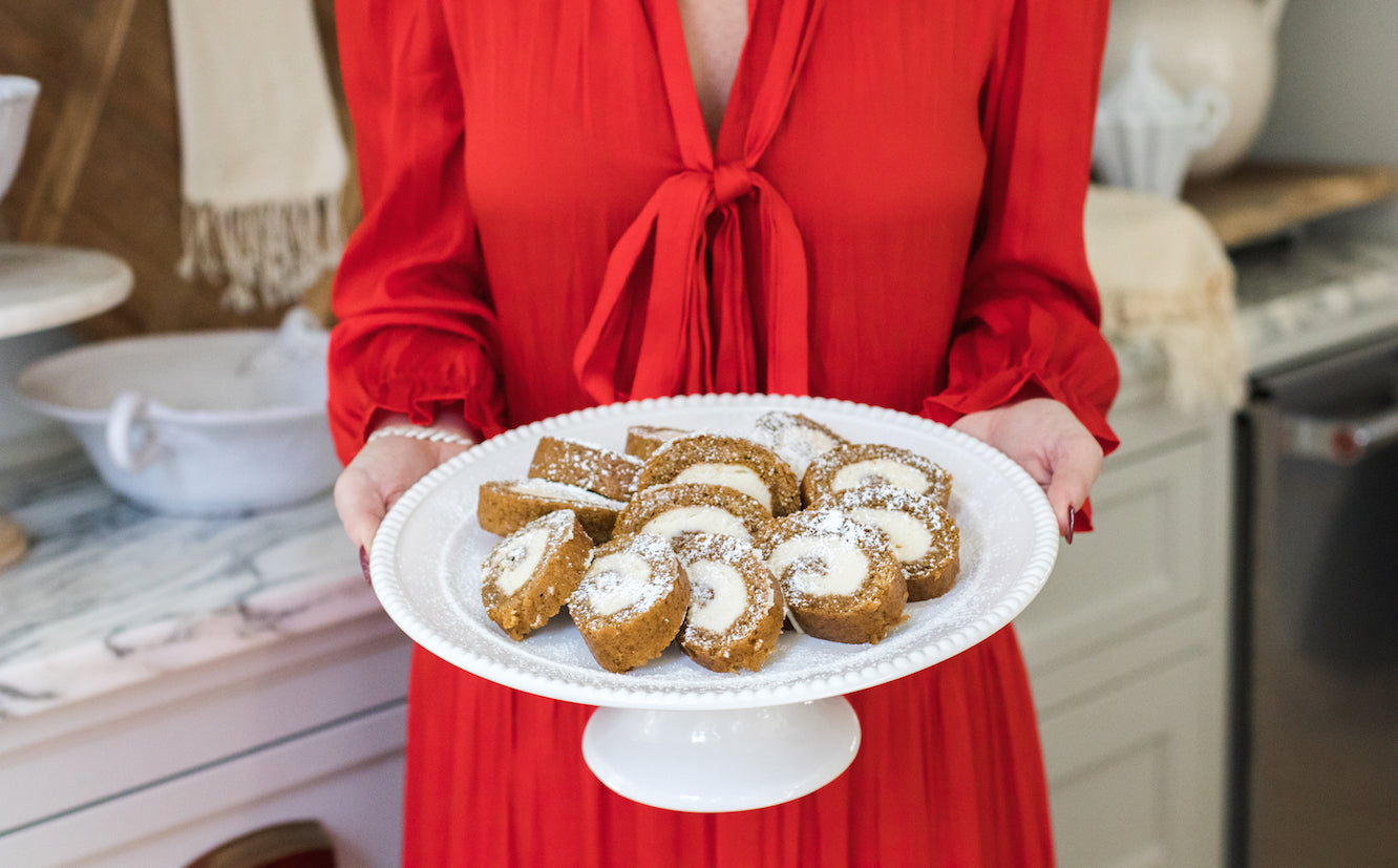 Ashley Childers, Holiday Pumpkin Roll Recipe