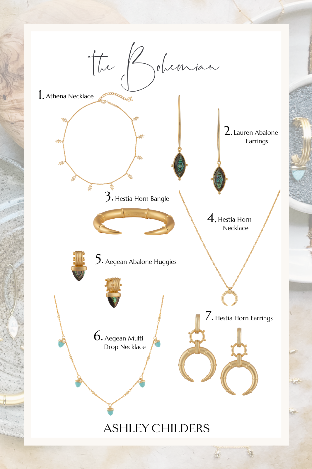 ashley childers, bohemian gift guide
