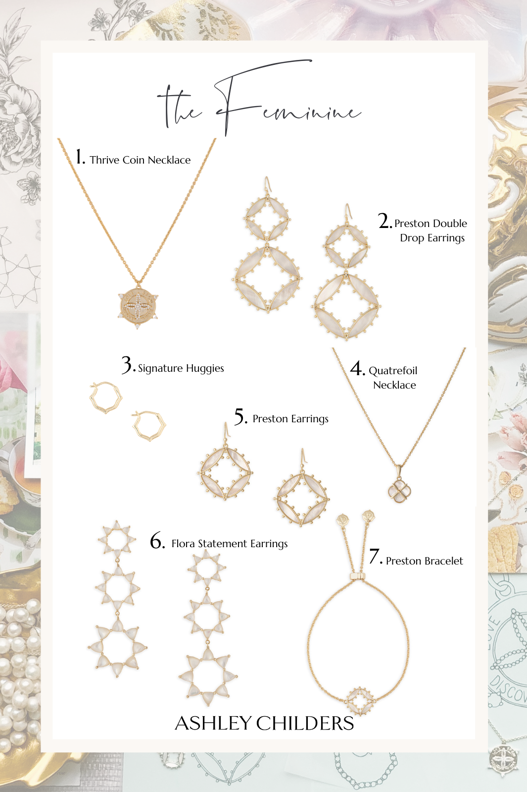 ashley childers, feminine gift guide