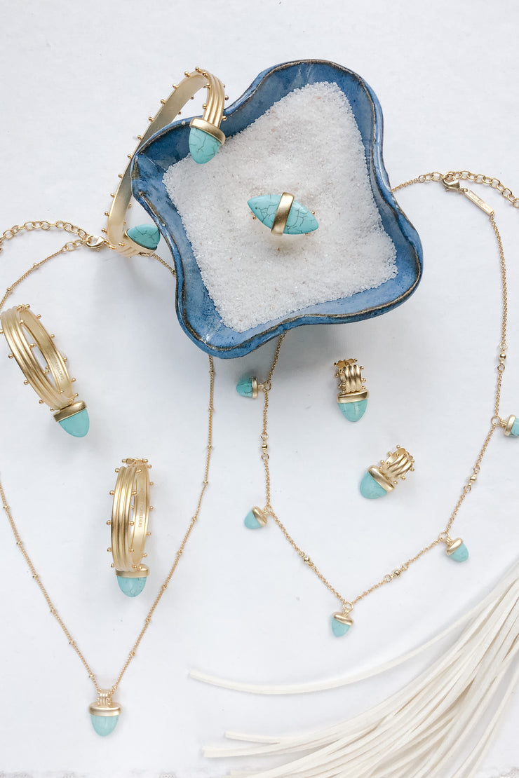 Ashley Childers, Aegean Collection Turquoise