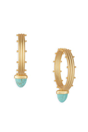 Ashley Childers, Aegean Hoops Turquoise