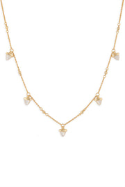 Ashley Childers, Aegean Multi Drop Necklace, MOP